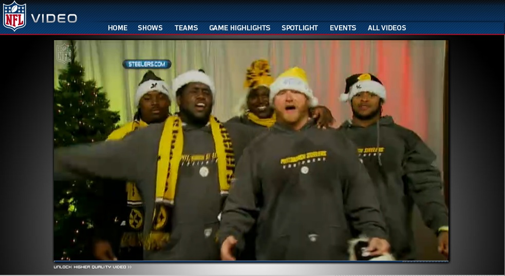 Steelers - Merry Christmas