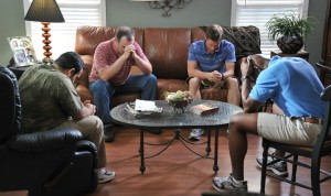 Courageous movie - small group praying SMALL SIZE