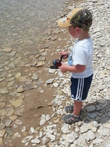 Dave Jr. Fishing