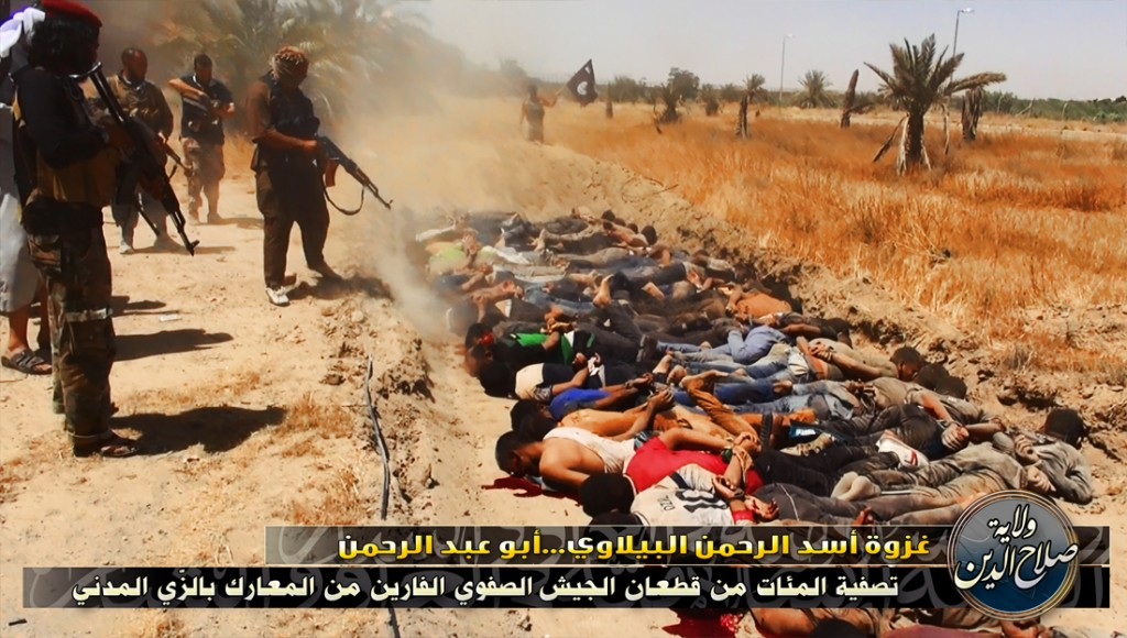 ISIS insanity 1024x580 Christian Persecution Out of Control in Middle East